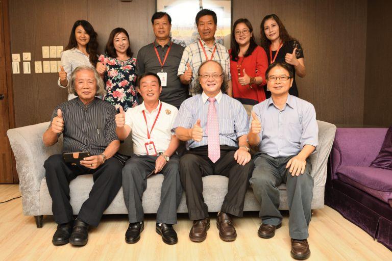 北京長城書畫家協會赴台寫真
